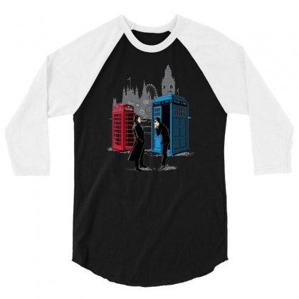 Cabins Collide 3/4 Sleeve Shirt Designed By Wedoksaro