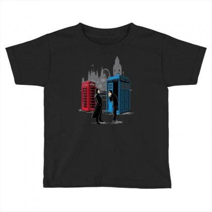 Cabins Collide Toddler T-shirt Designed By Wedoksaro
