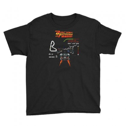 Back To The Future Youth Tee Designed By Monzart