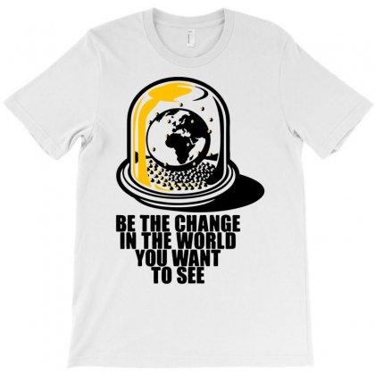 World Snow Globe T-shirt Designed By Marla_arts