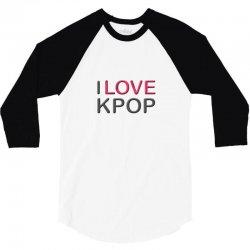 love pop 3/4 Sleeve Shirt | Artistshot
