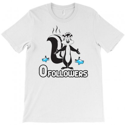 Zero Followers T-shirt Designed By Marla_arts
