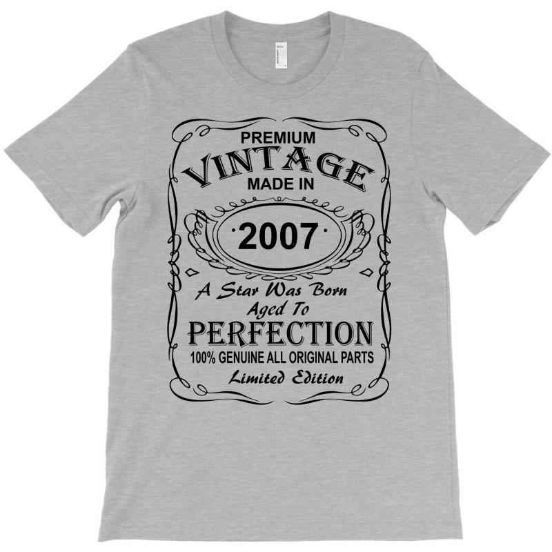 Birthday Gift Ideas For Men And Women Was Born 2007 T-shirt | Artistshot