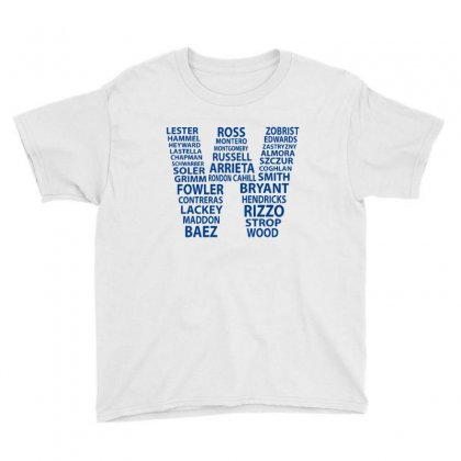 Cubs Wins Youth Tee Designed By Novosel