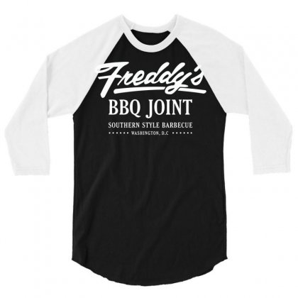 Freddy's Bbq Joint 3/4 Sleeve Shirt Designed By Deomatis9888