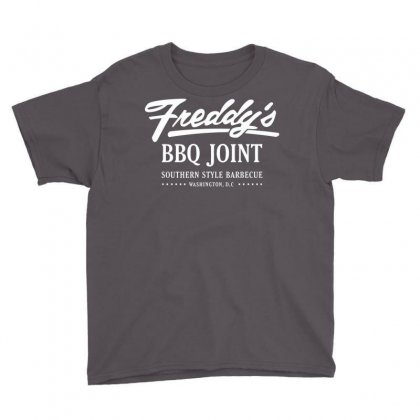 Freddy's Bbq Joint Youth Tee Designed By Deomatis9888