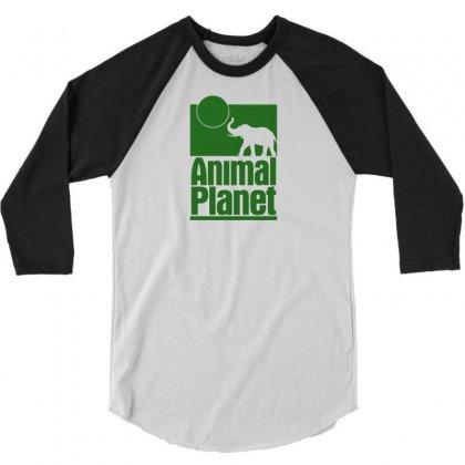 Animal Planet 3/4 Sleeve Shirt Designed By Printshirts