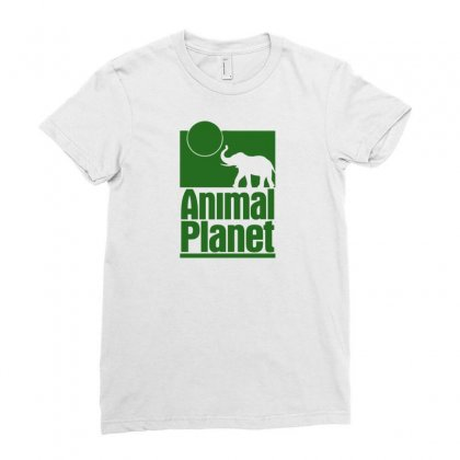 Animal Planet Ladies Fitted T-shirt Designed By Printshirts