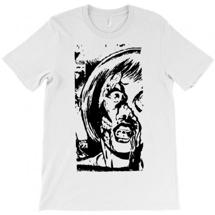 Zombie Attack Horror T-shirt Designed By Printshirts