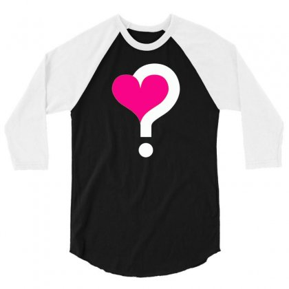 Who Could Captivate My Heart 3/4 Sleeve Shirt Designed By Printshirts