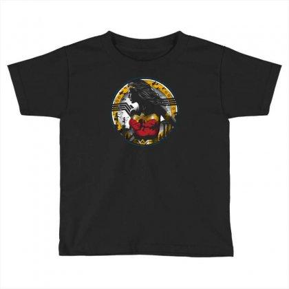 Amazon Girl Toddler T-shirt Designed By Ronz Art