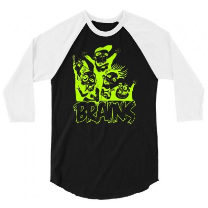 Brain Squad 3/4 Sleeve Shirt Designed By Firstore