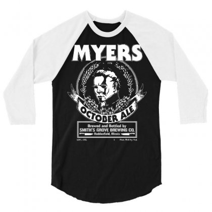 Myers October Ale 3/4 Sleeve Shirt Designed By Deomatis9888