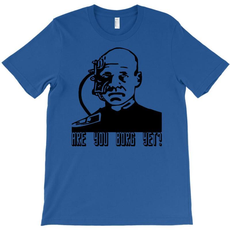 Geek Borg T-shirt   Artistshot