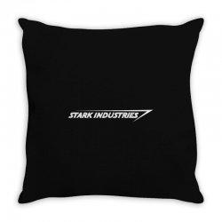 stark industries Throw Pillow   Artistshot