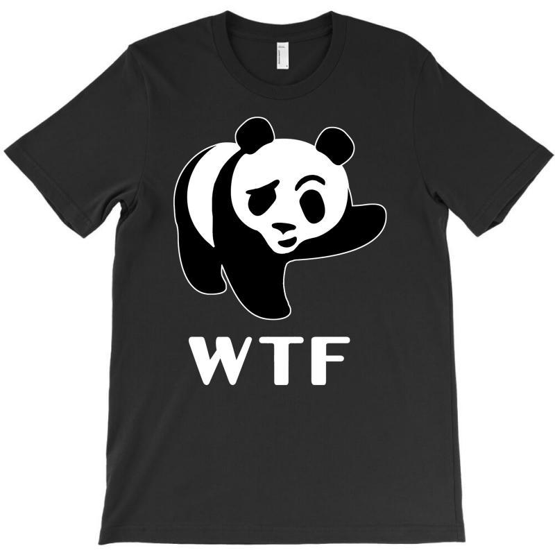 Wtf Panda T-shirt   Artistshot