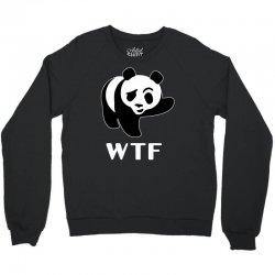 wtf panda Crewneck Sweatshirt   Artistshot