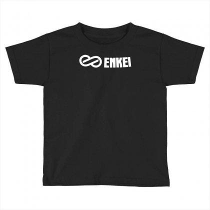 (2x) Enkei Wheel Logo Die Cut Stickers Decals (colors To Choose) Toddler T-shirt Designed By Mdk Art