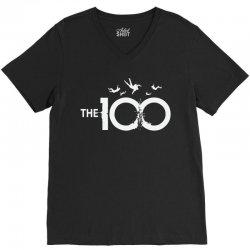 the 100 V-Neck Tee   Artistshot