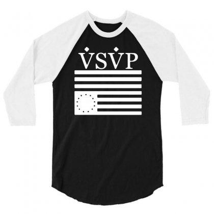 Asap Rocky Vsvp 3/4 Sleeve Shirt Designed By Mdk Art