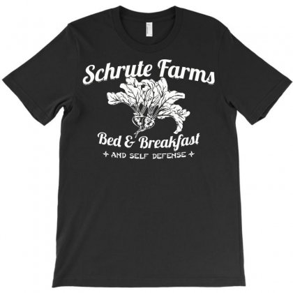 Schrute Farms Bed & Breakfast T-shirt Designed By Deomatis9888