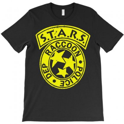 S.t.a.r.s. Raccoon Police Dept Conveter T-shirt Designed By Deomatis9888