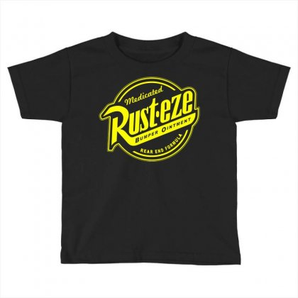 Rust Eze Bumper Ointment Toddler T-shirt Designed By Deomatis9888