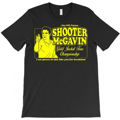 Shooter Mcgavin Gold Jacket Tour Championship T-shirt Designed By Deomatis9888