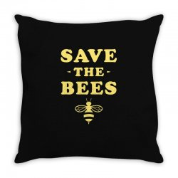 Save The Bees Throw Pillow   Artistshot