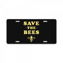 Save The Bees License Plate   Artistshot