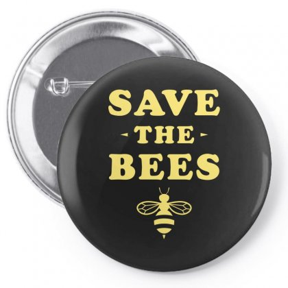 Save The Bees Pin-back Button Designed By Ofutlu