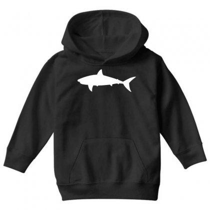 Shark Youth Hoodie Designed By Ofutlu