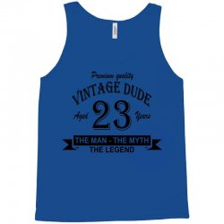 aged 23 years Tank Top | Artistshot