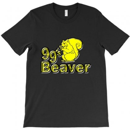 99s Beaver T-shirt Designed By Bapakdanur