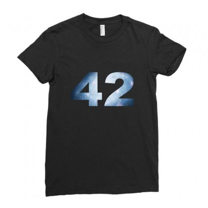 Constellation 42 Ladies Fitted T-shirt Designed By Katabudi