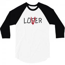Loser Lover 3/4 Sleeve Shirt   Artistshot