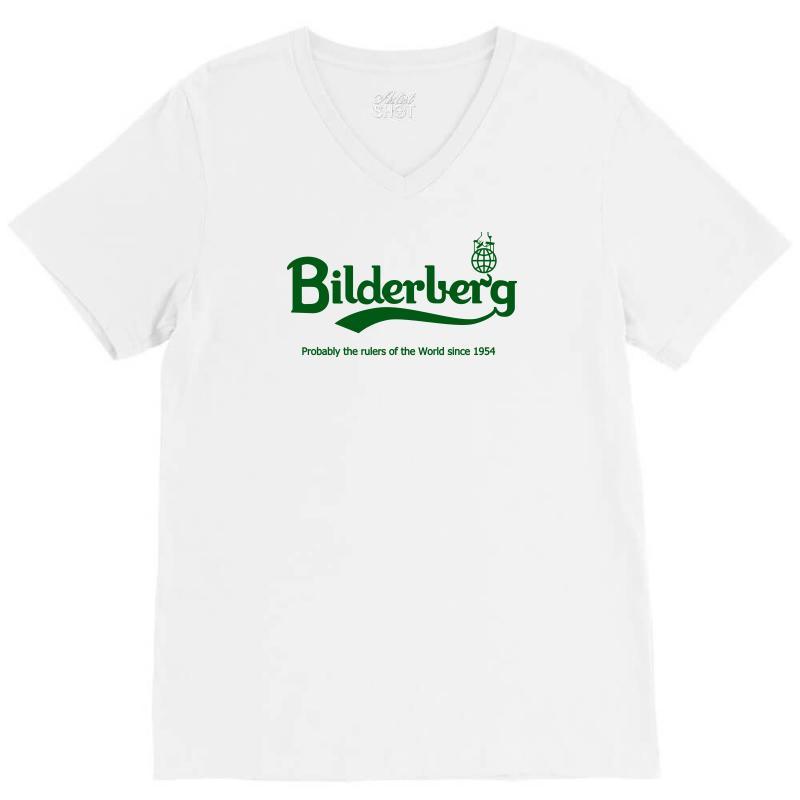 Bilderberg V-neck Tee | Artistshot
