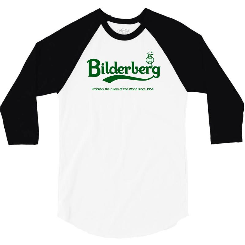 Bilderberg 3/4 Sleeve Shirt | Artistshot