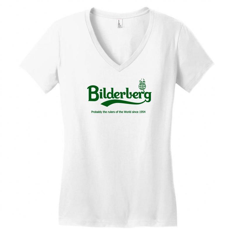 Bilderberg Women's V-neck T-shirt   Artistshot