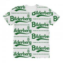 bilderberg All Over Women's T-shirt   Artistshot