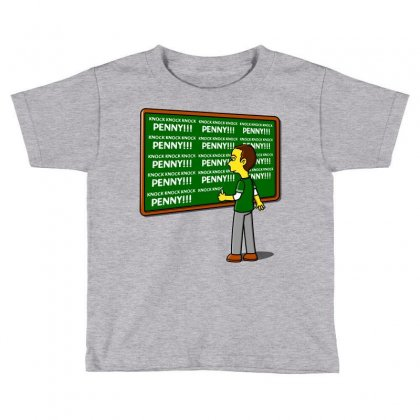 Blackboard Theory Toddler T-shirt Designed By Karlangas