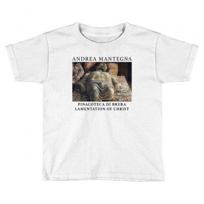 Andrea Mantegna Lamentation Of Christ Toddler T-shirt Designed By Akin
