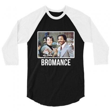 Bromance 3/4 Sleeve Shirt Designed By Artistshotf1