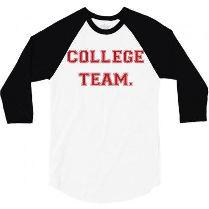 College Team 3/4 Sleeve Shirt Designed By Zeynepu
