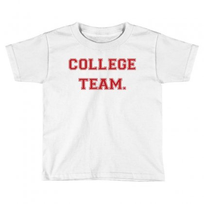 College Team Toddler T-shirt Designed By Zeynepu