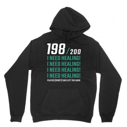 198 200 I Need Healing Unisex Hoodie Designed By Cosby