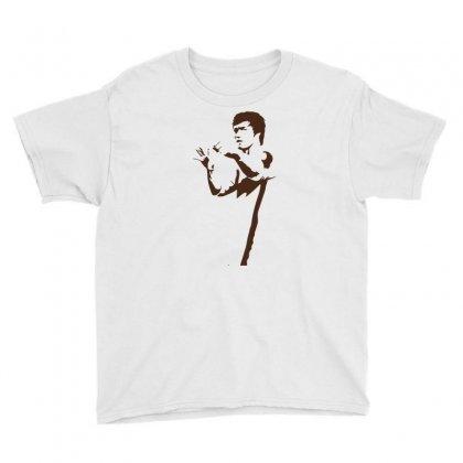 Bruce Lee Youth Tee Designed By Artistshotf1