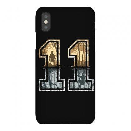 Stranger Things 11 Logo Iphonex Case Designed By Meza Design