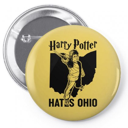 Harry Potter Hates Ohio Pin-back Button Designed By Akin