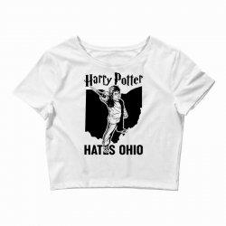 Harry Potter Hates Ohio Crop Top   Artistshot